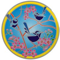 Decal / Window Sticker - Sunseal BLUE WREN