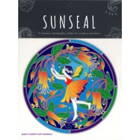 Decal / Window Sticker - Sunseal BUSH FLOWER FAIRY