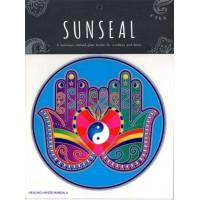 Decal / Window Sticker - Sunseal HEALING HANDS