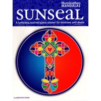 Decal / Window Sticker - Sunseal ILLUMINATION CROSS