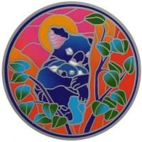 Decal / Window Sticker - Sunseal KOALA and BABY