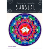 Decal / Window Sticker - Sunseal LOTUS HEART MANDALA