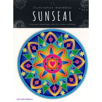 Decal / Window Sticker - Sunseal LOVE LIGHT MANDALA