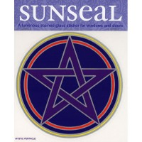 Decal / Window Sticker - Sunseal MYSTIC PENTACLE