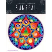 Decal / Window Sticker - Sunseal SEVEN CHAKRAS MANDALA