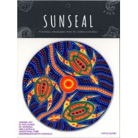 Decal / Window Sticker - Sunseal TURTLE ISLAND