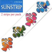 Decal / Window Sticker - Sunstrips CLOWNFISH