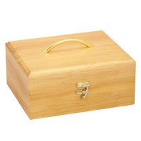 Timber Essential Oil Storage Box - 30 Slot
