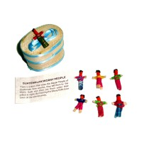 Worry Doll - 6 X MINI WORRY DOLLS in GIFT BOX