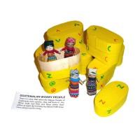 Worry Doll - 4 x BIG WORRY DOLLS in BOX