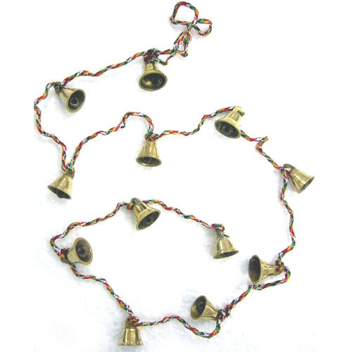 Brass Bells on String - Medium