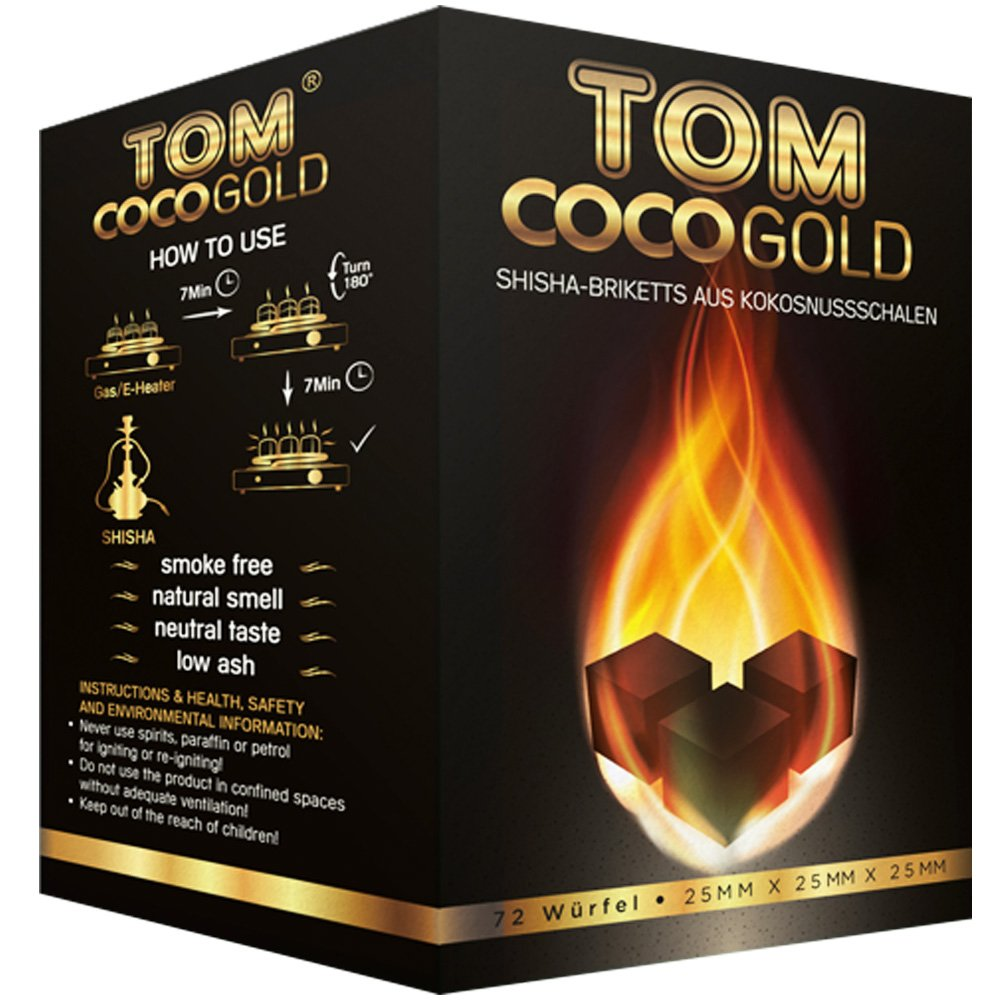Coconut Charcoal - TOM COCO GOLD