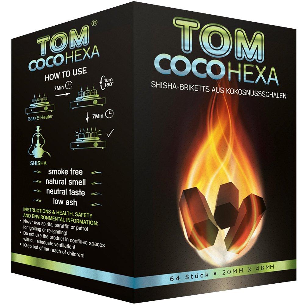 Coconut Charcoal - TOM COCO HEXA