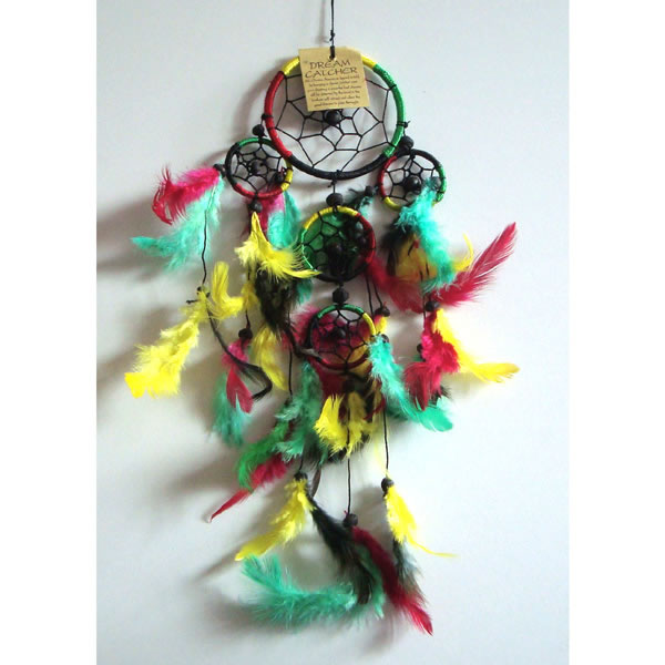 Mini Dream Catcher - Multi-Colour [B]