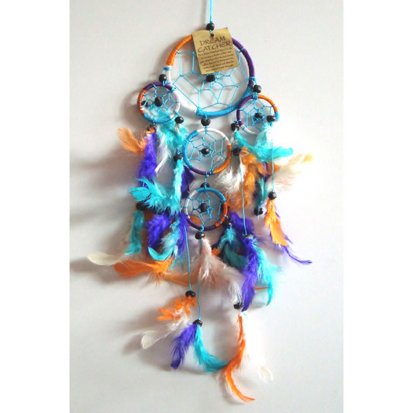 Mini Dream Catcher - Multi-Colour [C]