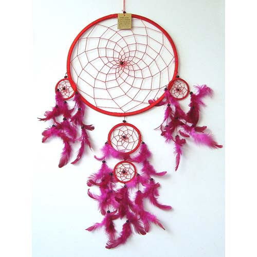 JUMBO Dream Catcher - RED
