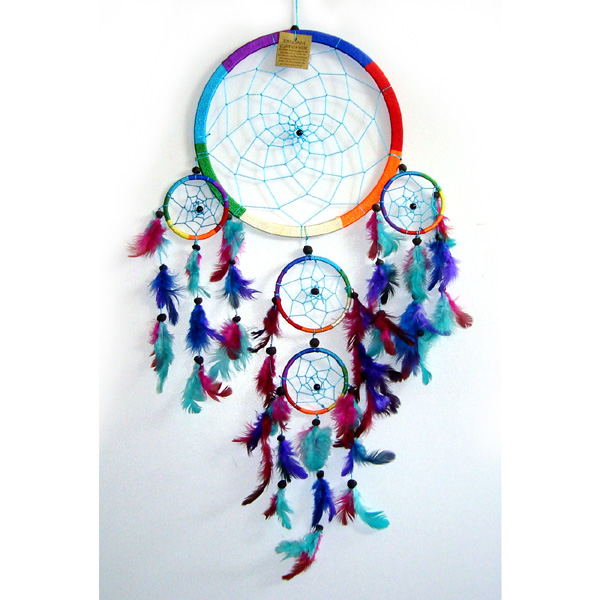 X-Large Dream Catcher - RAINBOW [A]