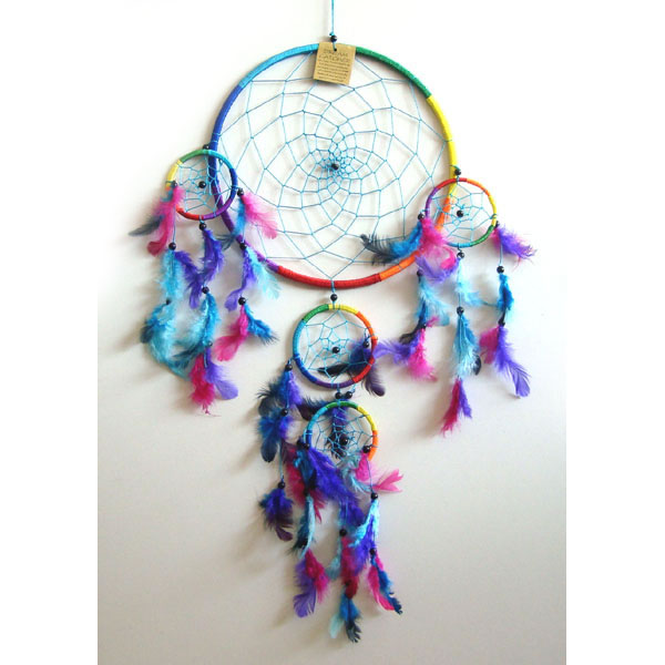 X-Large Dream Catcher - RAINBOW [B]