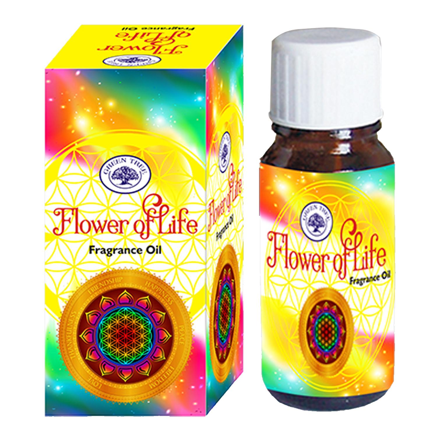 Green Tree Fragrance Oil - FLOWER OF LIFE