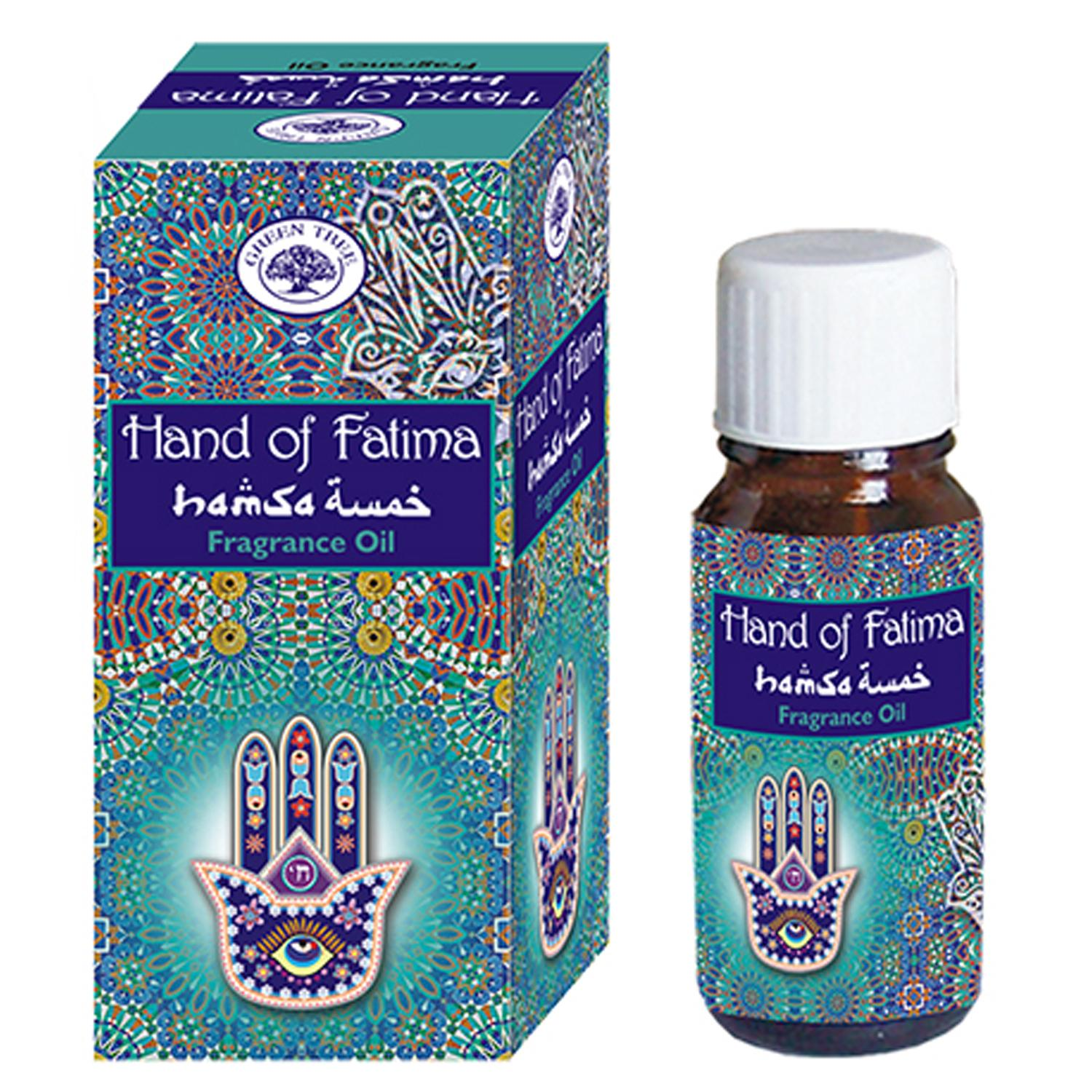 Green Tree Fragrance Oil - HAND of FATIMA