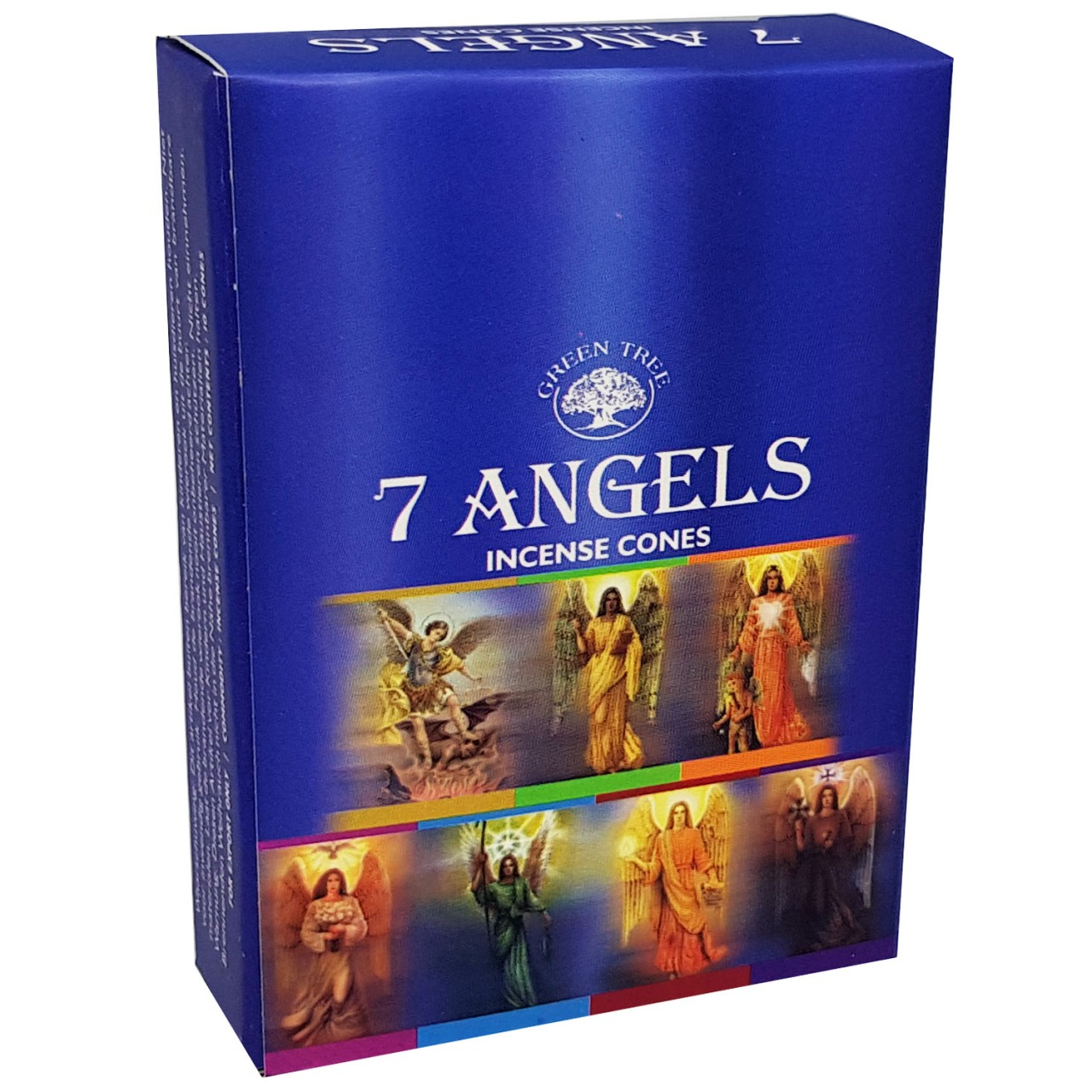 Green Tree Incense Cones - 7 ANGELS