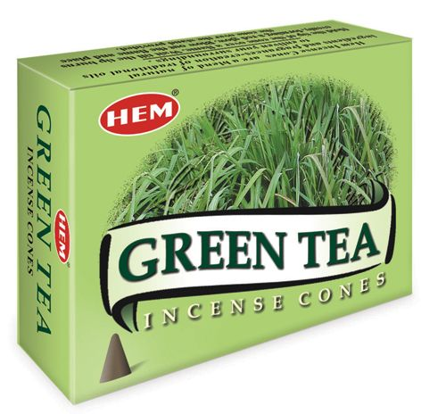 Hem Incense Cones - GREEN TEA