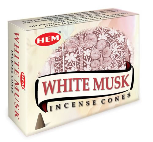 Hem Incense Cones - WHITE MUSK