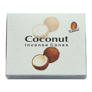 Kamini Incense Cones - COCONUT