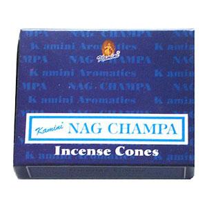 Kamini Incense Cones - NAG CHAMPA