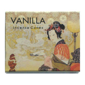Kamini Incense Cones - VANILLA