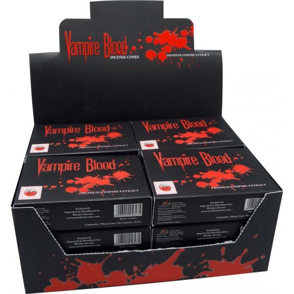 Nandita Incense Cones - VAMPIRE BLOOD Organic