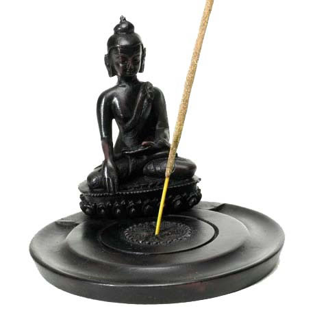 Incense Holder Resin - BUDDHA