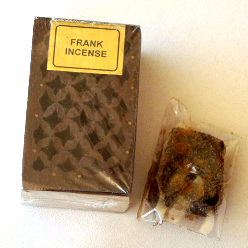 Rosewood Cutwork Box - Frankincense