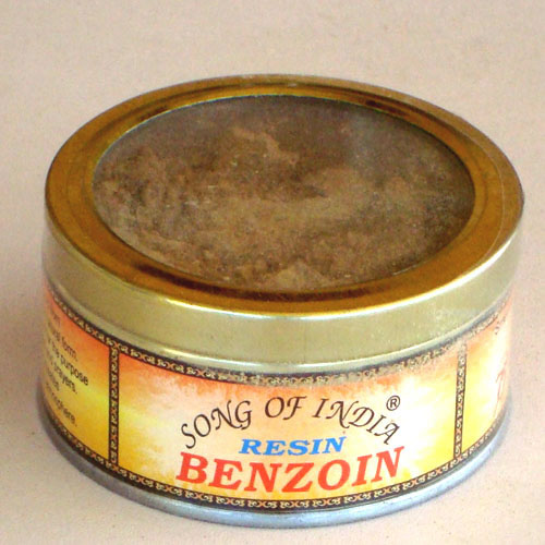 Song of India Resin - BENZOIN