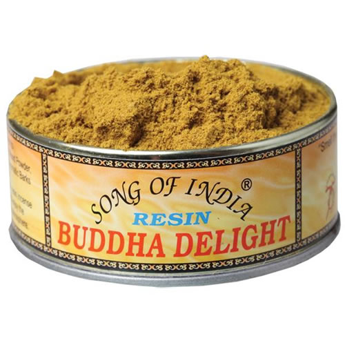 Song of India Resin - BUDDHA DELIGHT
