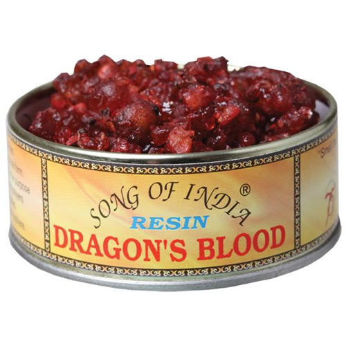 Song of India Resin - DRAGONS BLOOD