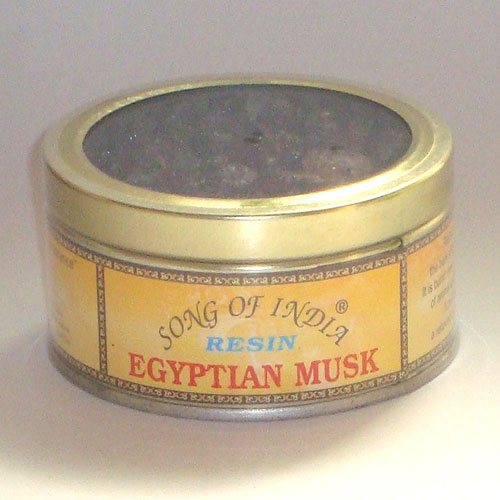Song of India Resin - EGYPTIAN MUSK