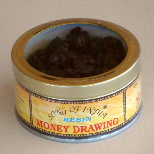 Song of India Resin - MONEY DRAWING
