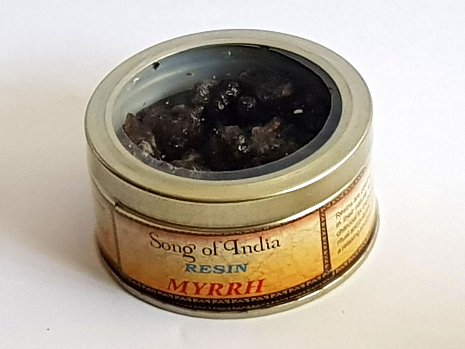 Song of India Resin - MYRRH