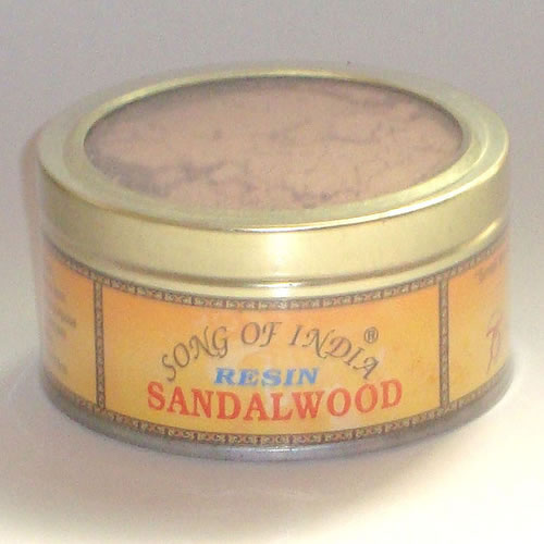 Song of India Resin - SANDALWOOD