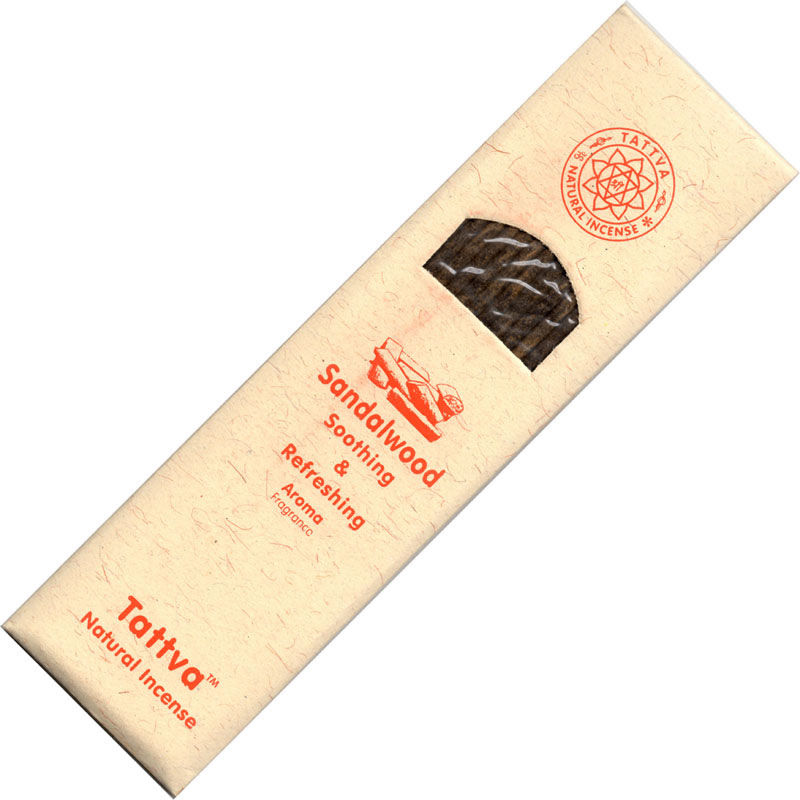 Tattva Ayurveda Incense - SANDALWOOD