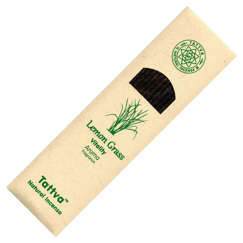 Tattva Ayurveda Incense - VITALITY (Lemongrass)
