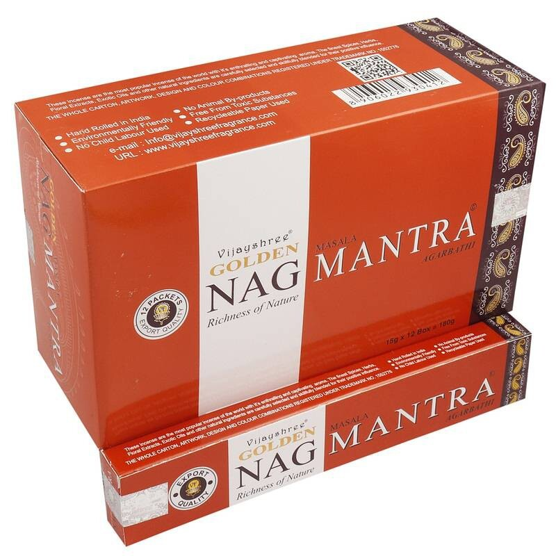 Golden NAG MANTRA Incense