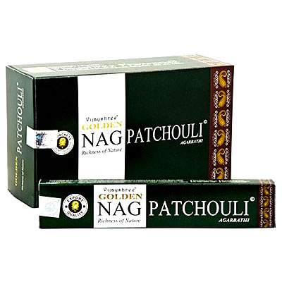 Golden NAG PATCHOULI Incense