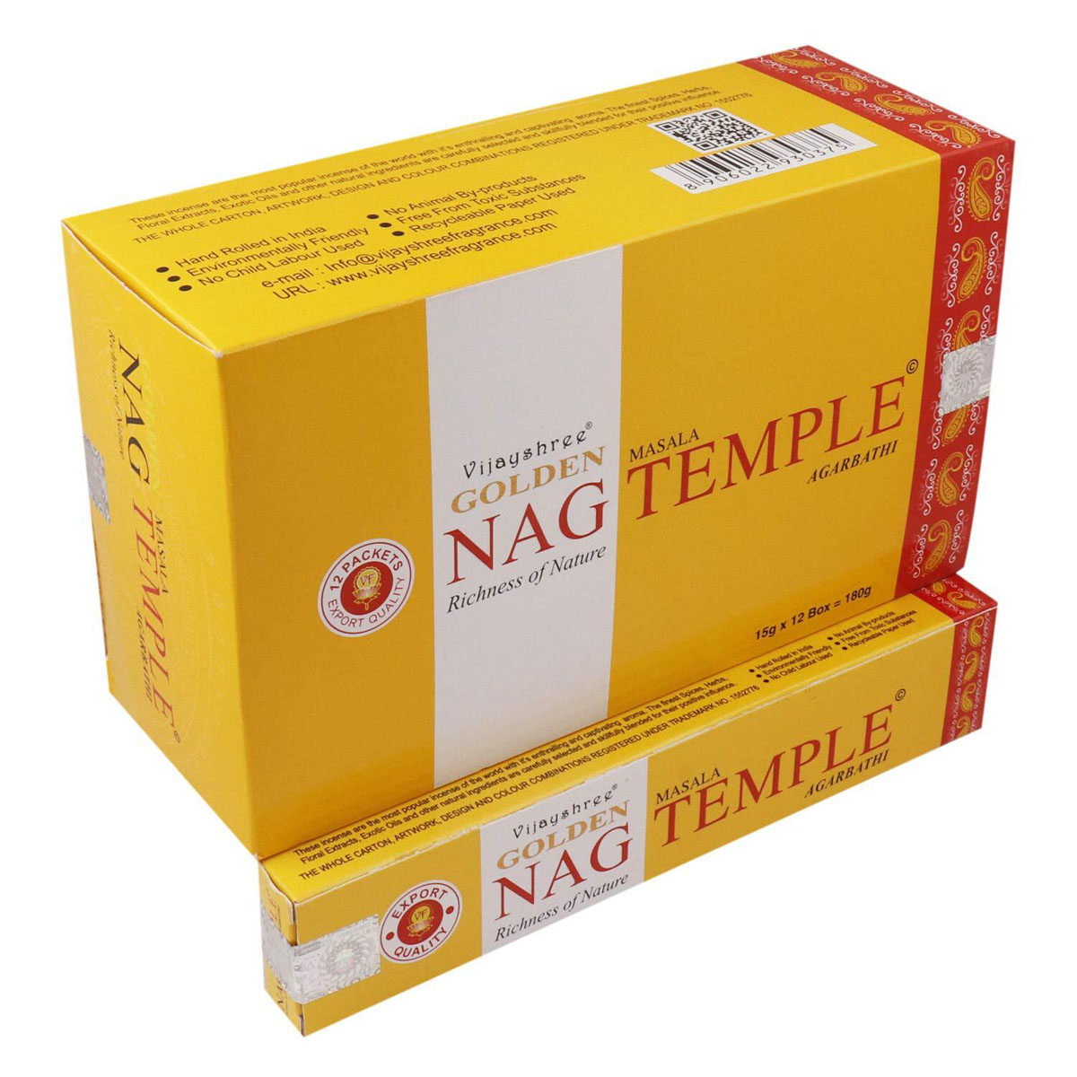 Golden NAG TEMPLE Incense