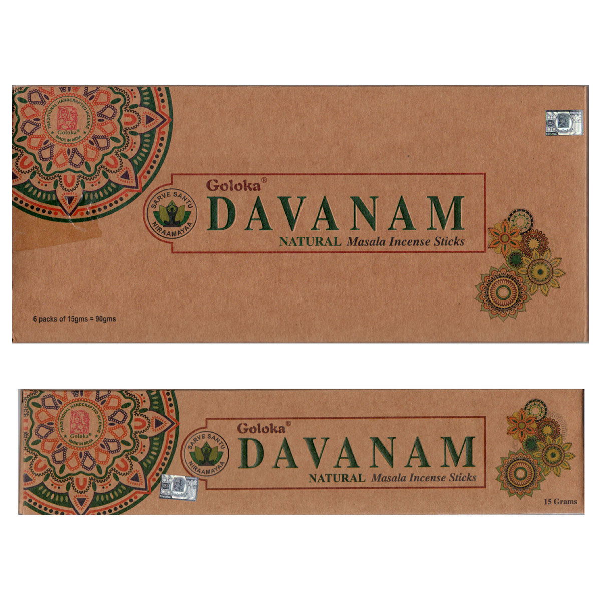 Goloka Incense - DAVANAM