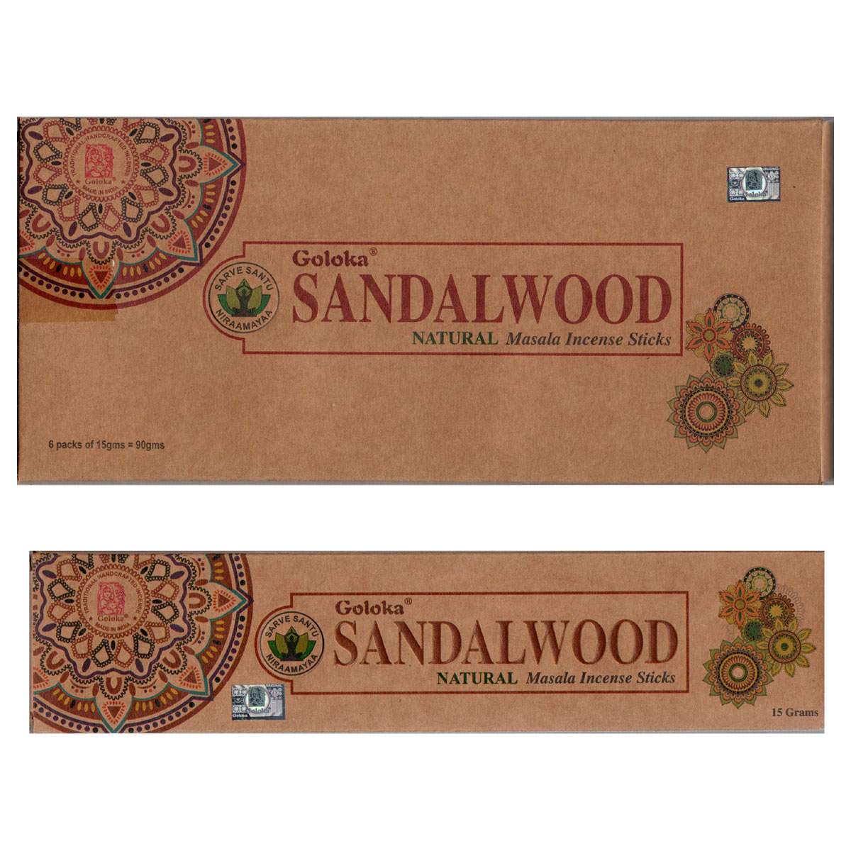 Goloka Incense - SANDALWOOD