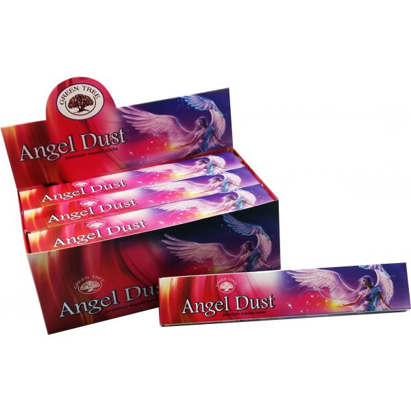 Green Tree Incense Sticks - ANGEL DUST