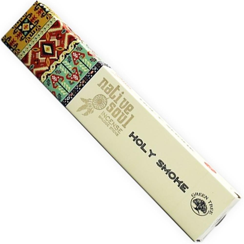 Green Tree NATIVE SOUL Incense - HOLY SMOKE