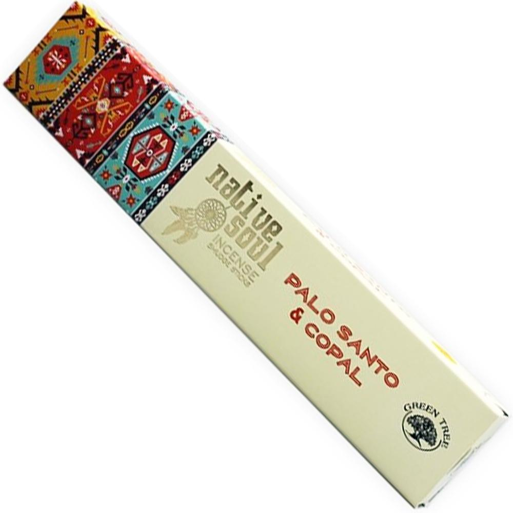 Green Tree NATIVE SOUL Incense - PALO SANTO & COPAL